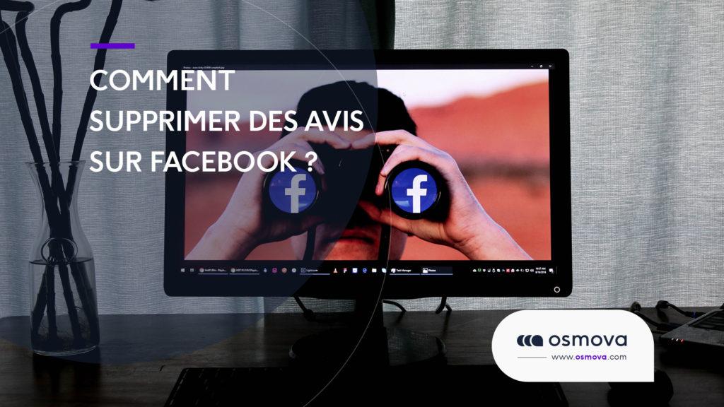 Comment supprimer des avis Facebook