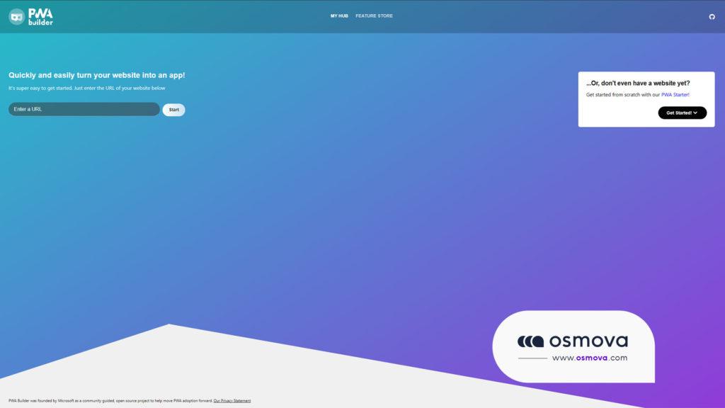 générateur de progressive Web App