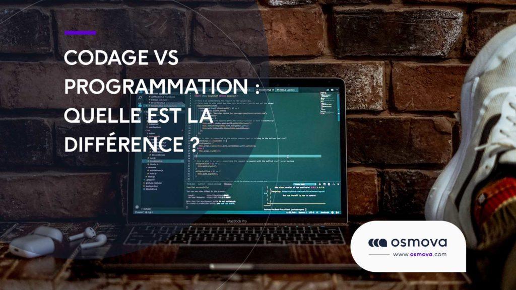 Codage vs programmation