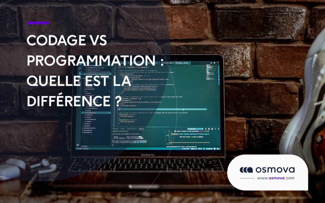 Codage vs programmation : quelle est la différence ?