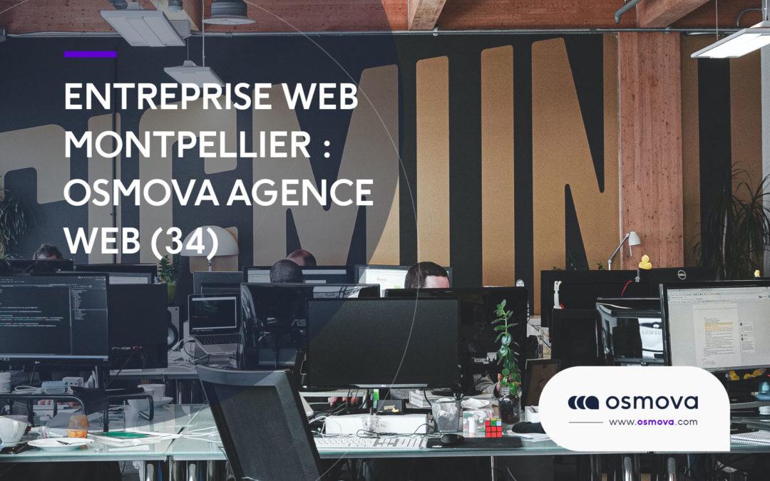 Entreprise web Montpellier : Osmova agence web (34)