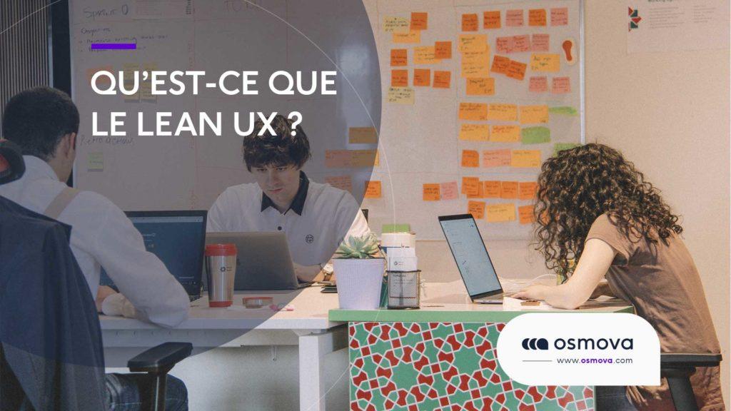 Qu'est-ce que le lean UX ?