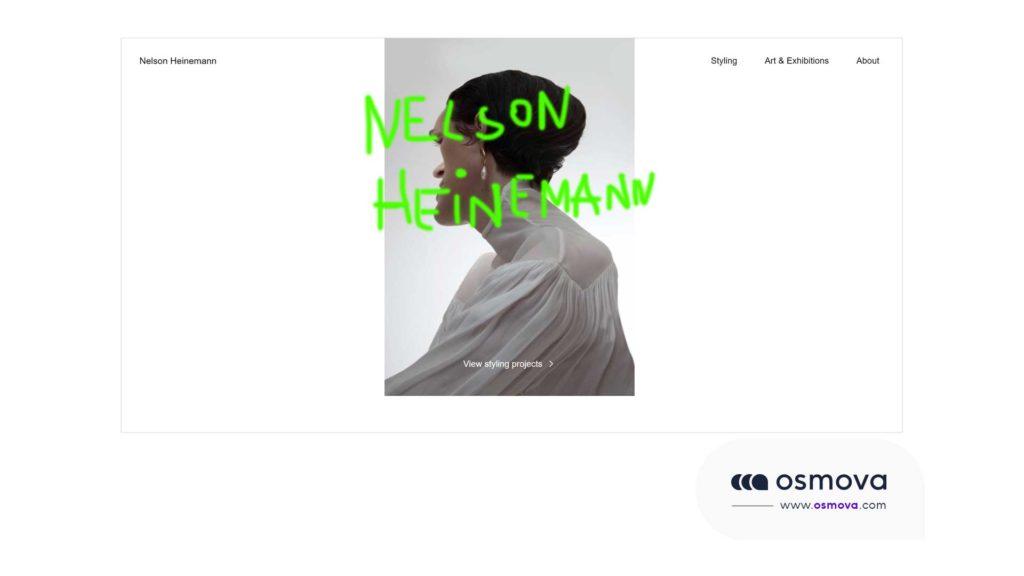 Exemple de brutalisme en webdesign