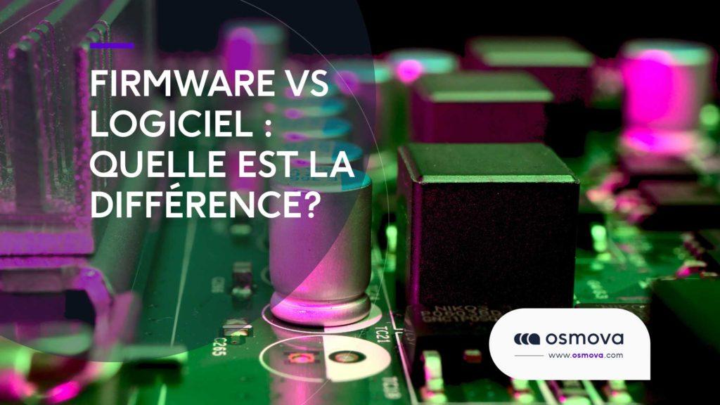 Firmware vs Logiciel