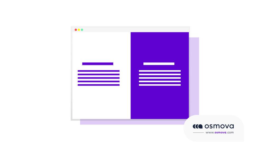 contraste et Hiérarchie visuelle en web design