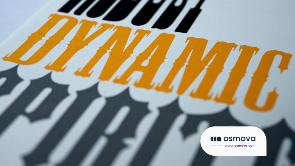 exemple typographie web design
