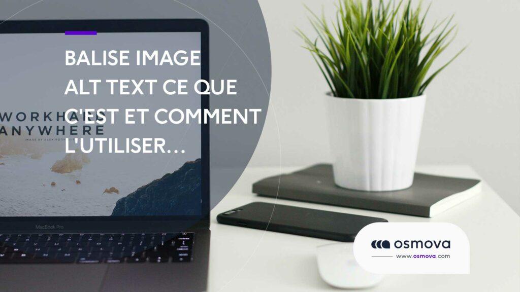 balise alt image text
