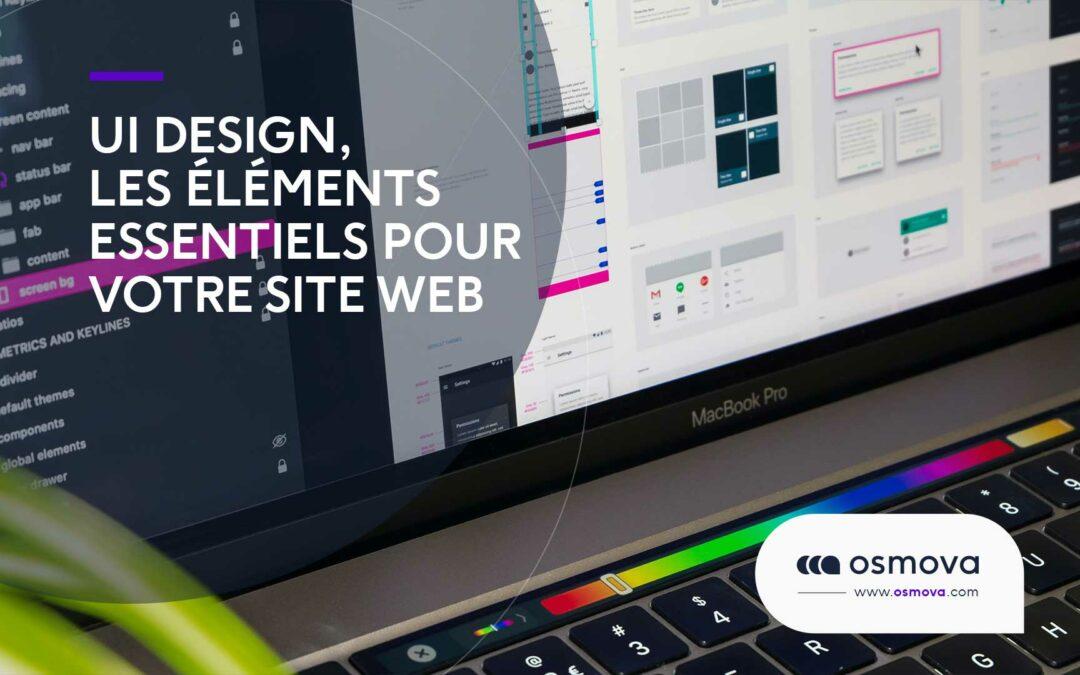 UI design, les éléments essentiels pour votre site web