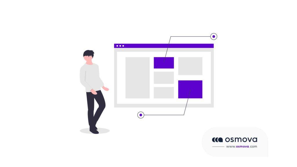 user interface pour site web