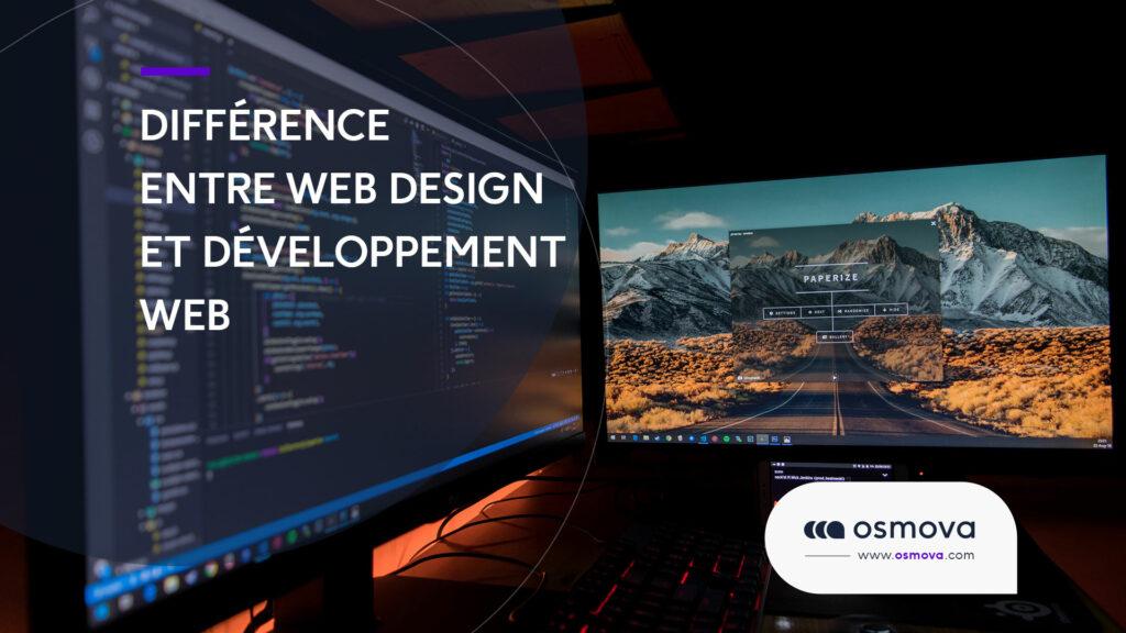 Web design vs développement Web