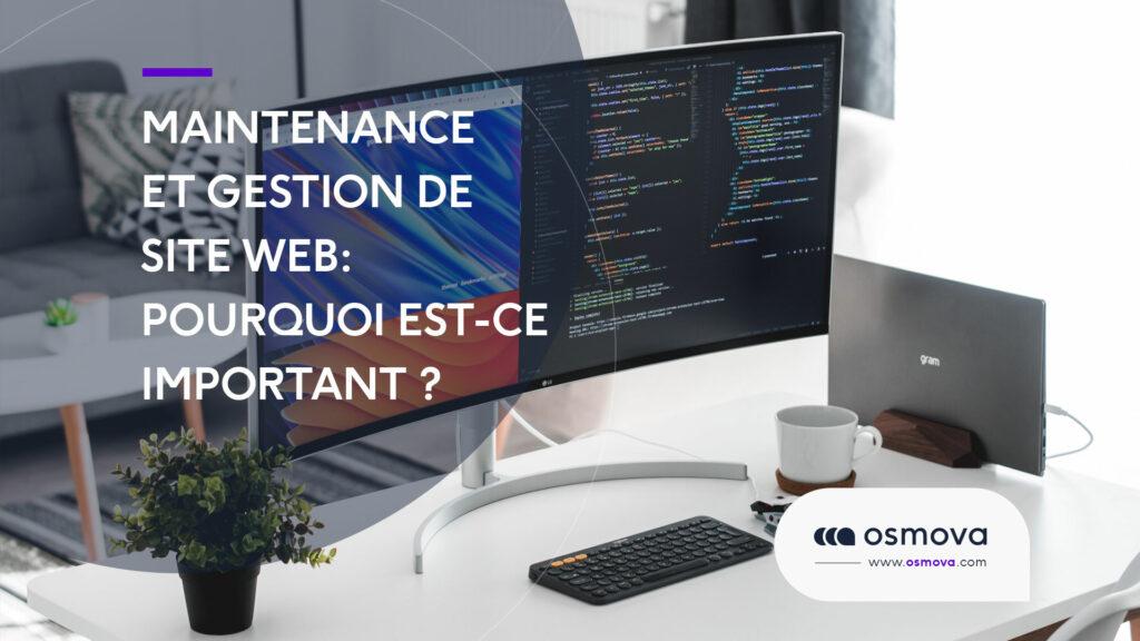 Maintenance et gestion de site Web