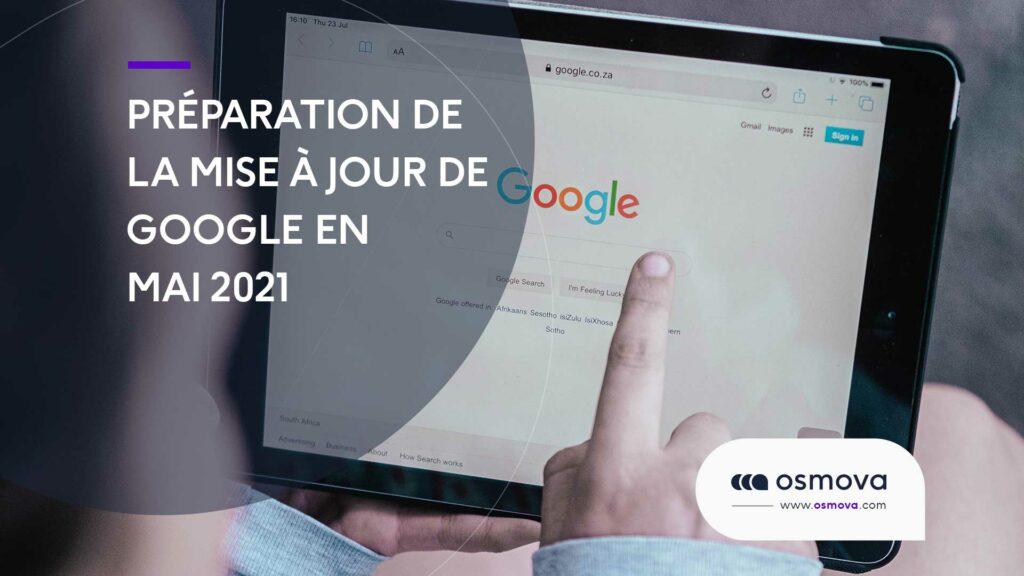 mise à jour Google en mai 2021