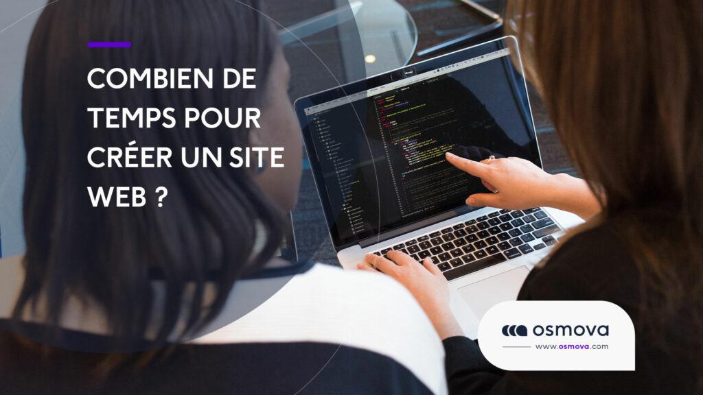 Combien de temps pour créer un site Web ?