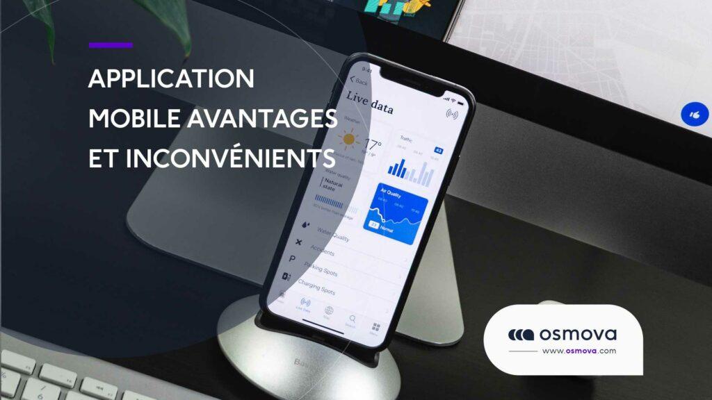 Application mobile avantages et inconvénients