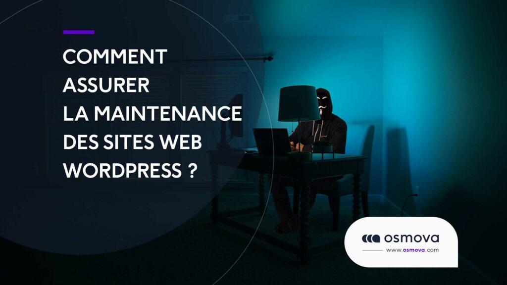 maintenance des sites Web WordPress