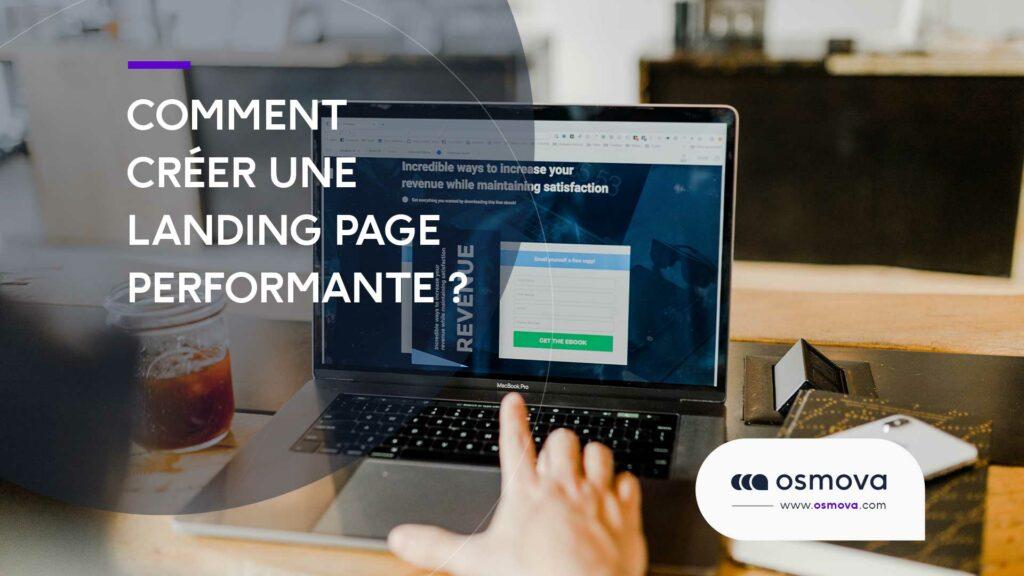 créer une landing page performante