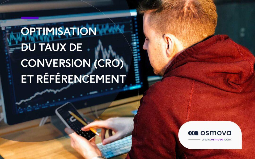 Optimisation du taux de conversion (CRO) et référencement