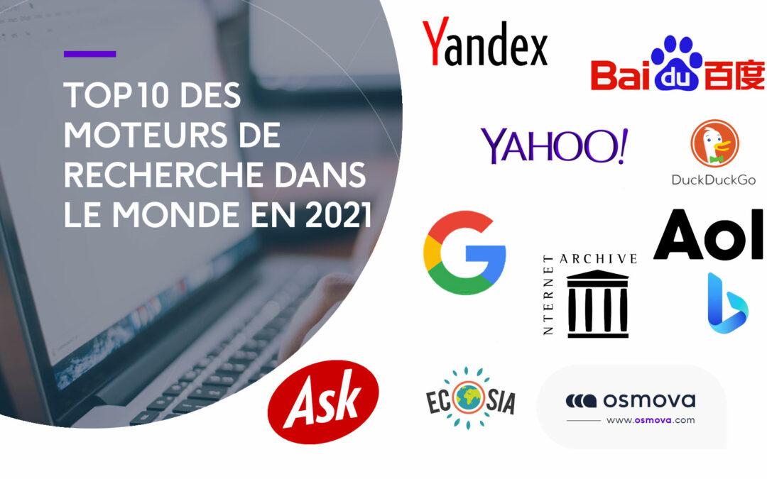 Top 10 des moteurs de recherche dans le monde en 2021