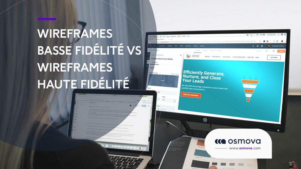 Wireframes basse fidélité vs wireframes haute fidélité
