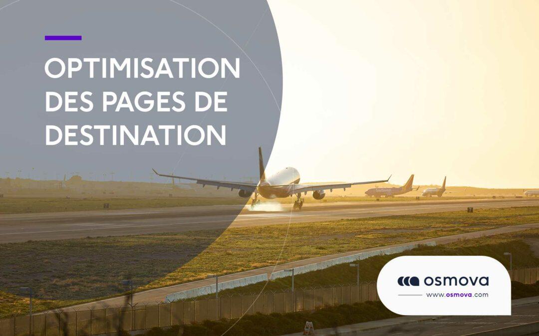 Optimisation des pages de destination